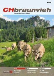 CHbraunvieh 06-2013 [7.39 MB] - Schweizer Braunviehzuchtverband