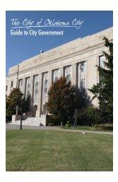 Guide to City Government (PDF) - City of Oklahoma City