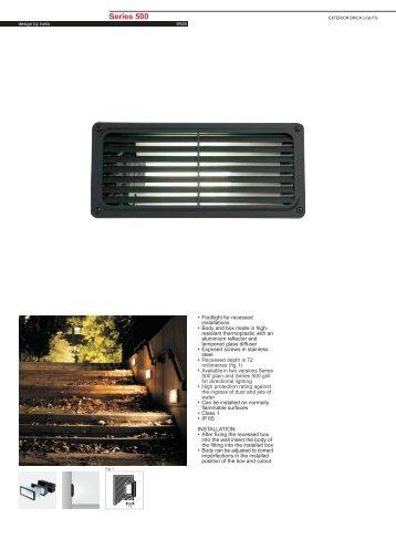 Series 500 Fluorescent G24d-2 - Spazio Lighting