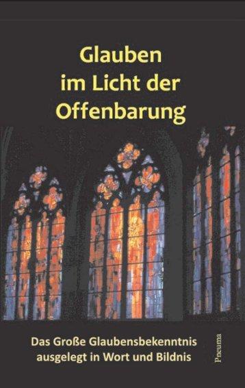 Glauben im Licht der Offenbarung - Buchvorschau - Pneuma Verlag