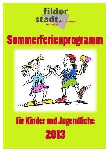 Angebote Woche 1 - Stadt Filderstadt
