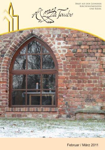 Februar / März 2011 - Evangelische St. Marien ...