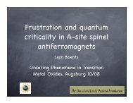 Frustration and quantum criticality in A-site spinel antiferromagnets