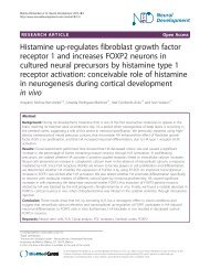 Histamine up-regulates fibroblast growth factor receptor 1 and ...