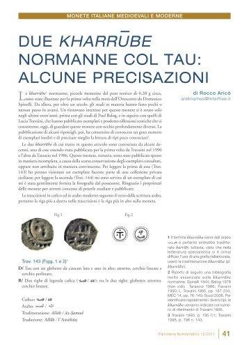 articolo completo in formato pdf - Panorama Numismatico