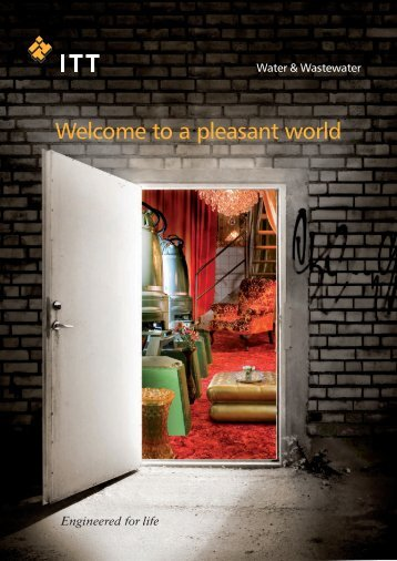 Welcome to a pleasant world - Water Solutions