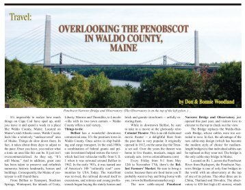 Penobscot Narrows Bridge and Observatory. - Vitality Magazine ...