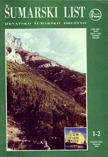 ÅUMARSKI LIST 1-2/1995 - HÅD