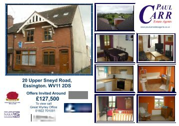 UPPER SNEYD ROAD 20 - Paul Carr Estate Agents