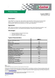 Product Data - Castrol TDS