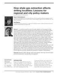 How Shale Gas Extraction Affects Drilling Localities - Green Choices ...