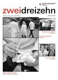 2013 02 - Universitätsspital Basel
