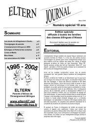 Eltern-bilinguisme Alsace - Free