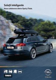 Thule Opel Catalogue