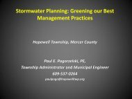 Stormwater Planning: Greening our Best Management Practices