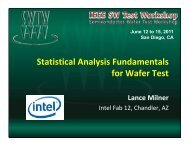 Statistical Analysis Fundamentals Statistical Analysis Fundamentals ...