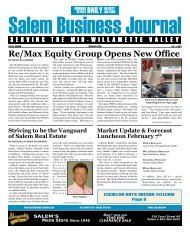 Re/Max Equity Group Opens New Office - Salem Business Journal