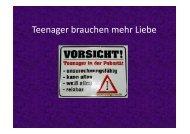 (Microsoft PowerPoint - Teenager brauchen mehr Liebe.ppt ...