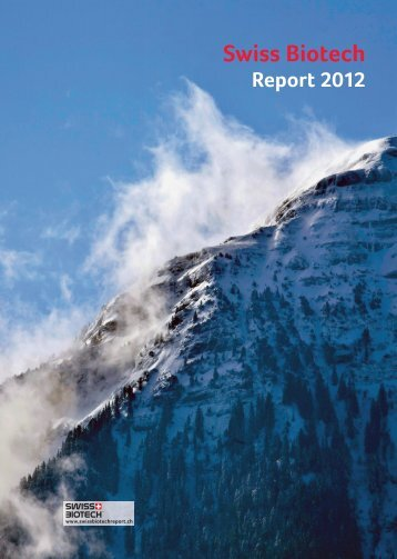 Swiss Biotech Report 2012