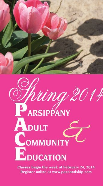 Parsippany adult & community education - the Parsippany-Troy Hills ...