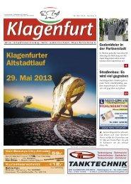 Klagenfurter Altstadtlauf 29. Mai 2013 - Magistrat Klagenfurt