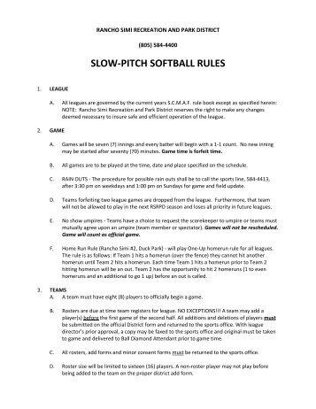 pitch adult slow Kent wa