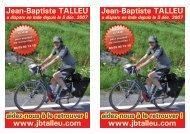 Jean-Baptiste TALLEU www.jbtalleu.com Jean-Baptiste TALLEU ...