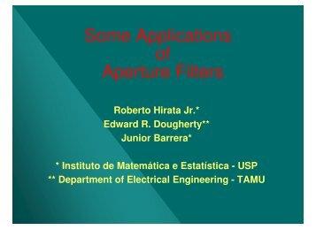 Aperture Operators - Vision at IME-USP