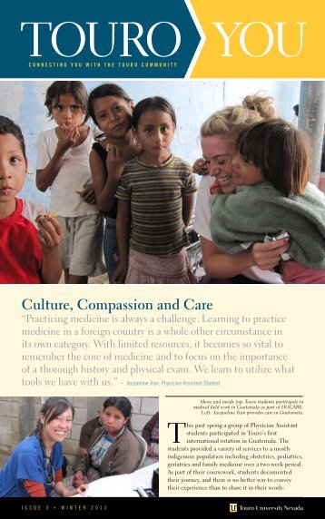 Culture, Compassion and Care - Touro College