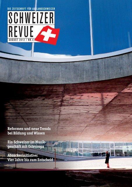 Download PDF Schweizer Revue 4/2012