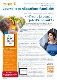 Journal des Allocations Familiales n° 75 – mars-avril-mai ... - Xerius
