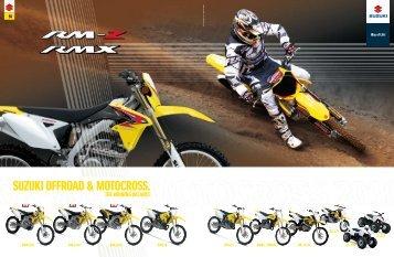 suzuki offroad & motocross.