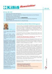 Newsletter 2010-03 (PDF 4576 KB) - KiBiS Work-Life Management ...