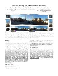 Panorama Weaving - Sites personnels de TELECOM ParisTech