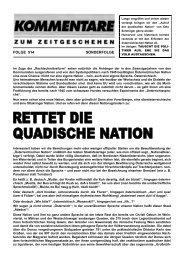 Sonderfolge 514 - Rettet die quadische Nation - AFP (Kommentare)
