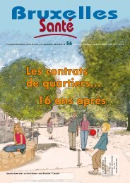 Bruxelles Santé n° 56 - décembre 2009 - Question santé
