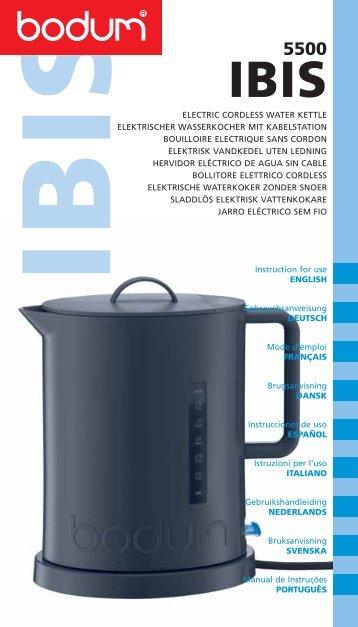 Bodum Wasserkocher bodum magazines