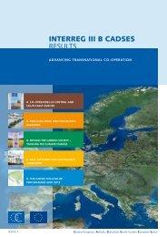 INTERREG III B CADSES REsults