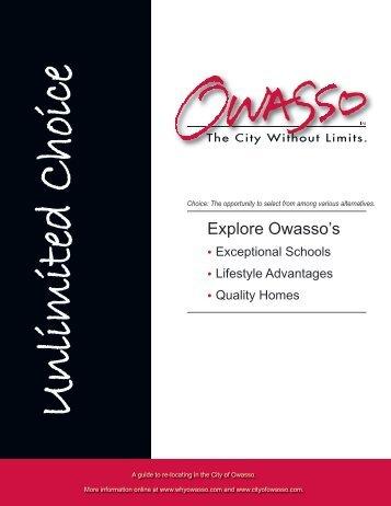 Explore Owasso's - City of Owasso