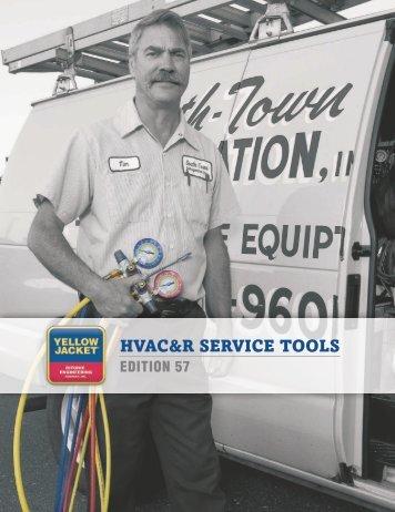 HVAC&R SERVICE TOOLS