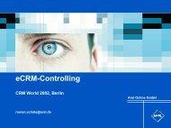 eCRM-Controlling - Virtual University