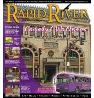 STUDIO TOURS - Rapid River Magazine