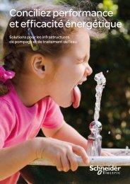Solutions pour les infrastructures de pompage ... - Schneider Electric