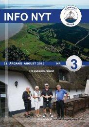 INFO NYT - Blaavandshuk Golfklub