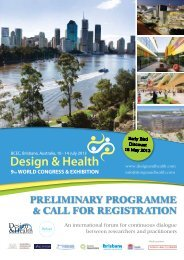 PRELIMINARY PROGRAMME & CALL fOR REGIstRAtION - the ...
