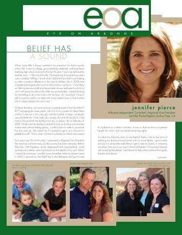 Belief Has - Arbonne