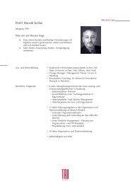 Profil Ronald Kallan - trilogie