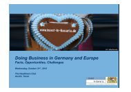 Doing Business in Germany and Europe - the Bavarian US Offices ...