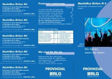 Folder - Regionalverkehr Ruhr-Lippe GmbH