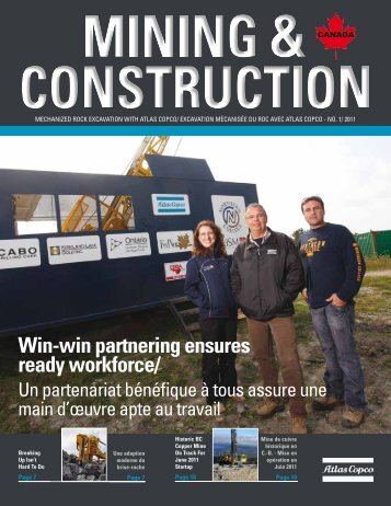 Win-win partnering ensures ready workforce/ - Atlas Copco